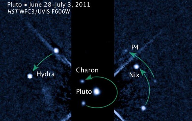 Découverte d'un nouveau satellite de Pluton