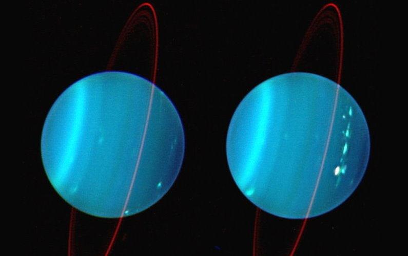 Nouvelle théorie sur l'axe de rotation d'Uranus