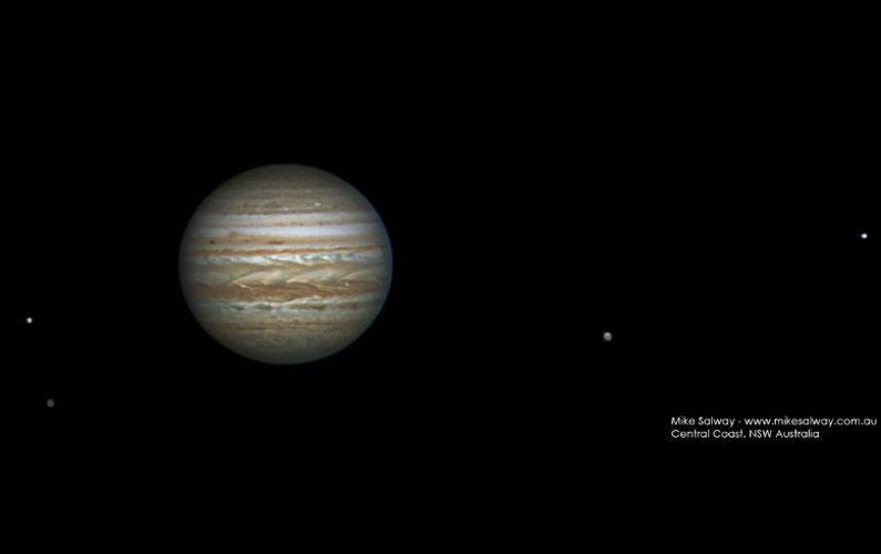 Deux nouveaux satellites autour de Jupiter