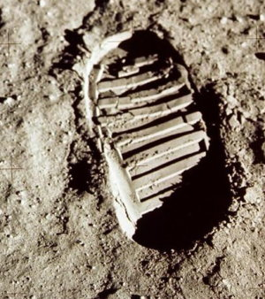 La trace de son pied