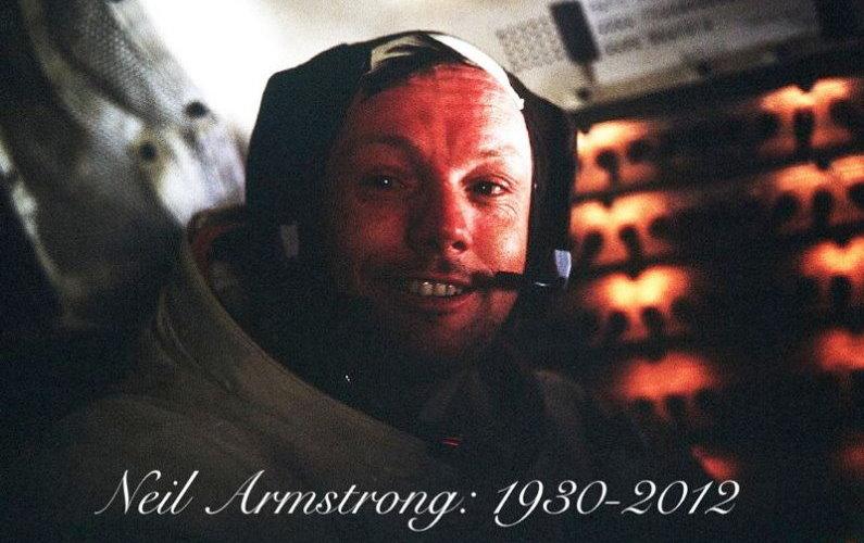 Neil Armstrong est mort