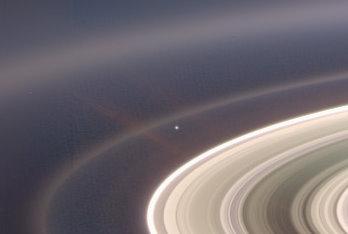 Le Terre en 2006 vue par Cassini