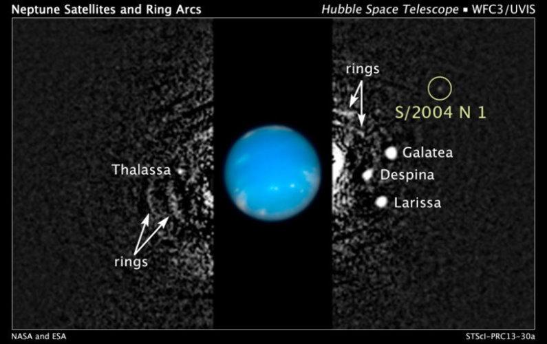 Découverte de S/2004 N1 autour de Neptune