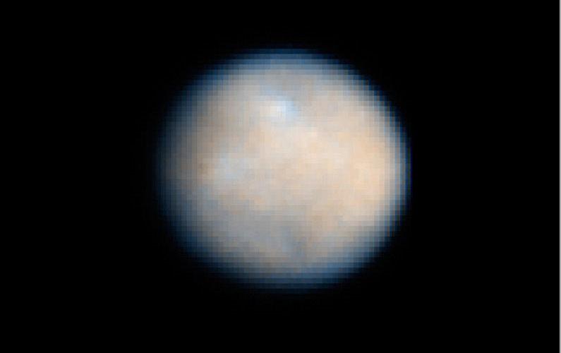 De la vapeur d'eau s'échappe de l'astéroïde Cérès