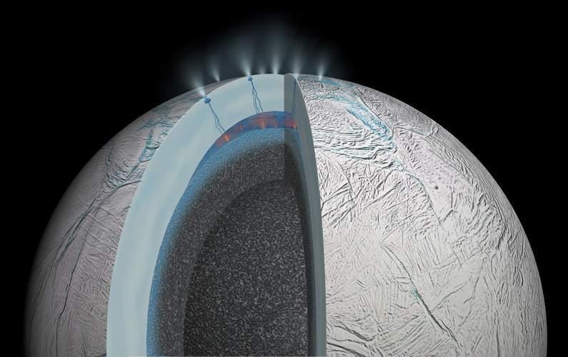 Encelade peut être un bon candidat pour abriter des formes de vie