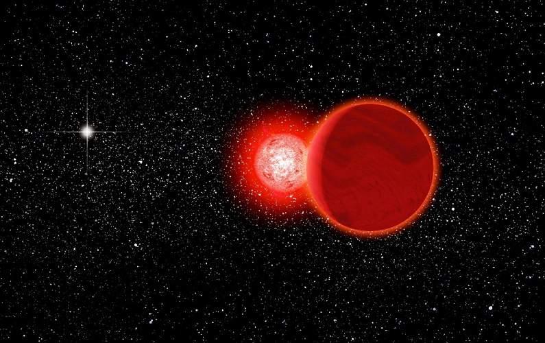 Une étoile a frôlé le système solaire