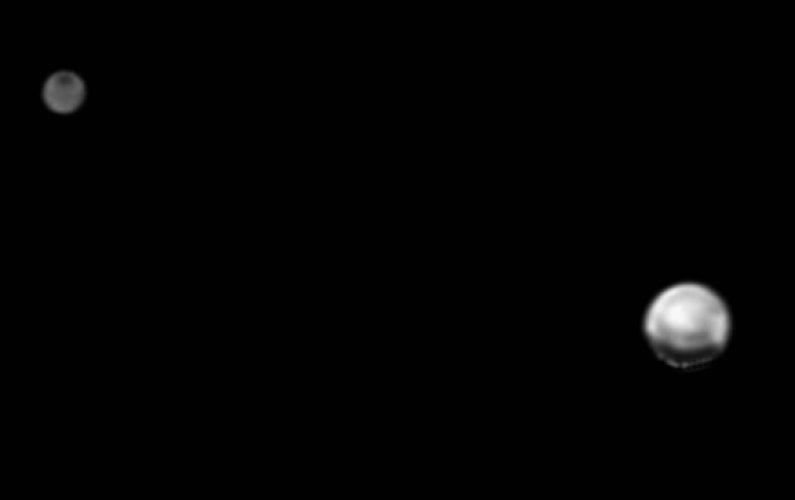 Nouvelle photographie du couple Pluton-Charon