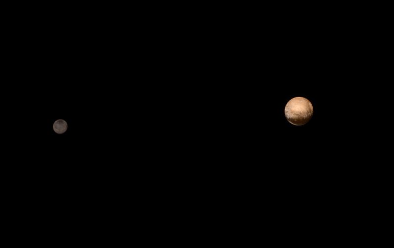 Pluton et Charon faux frêres