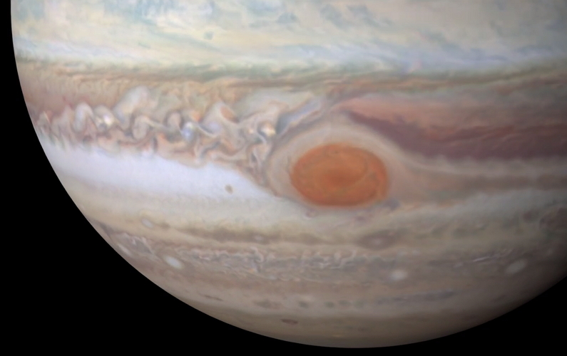 Jupiter en full HD 4k