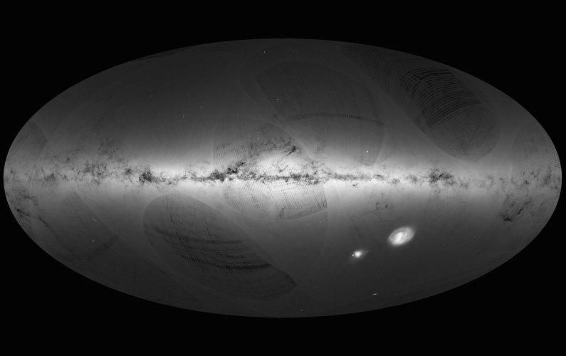 Plus d'un milliard d'étoiles cataloguées