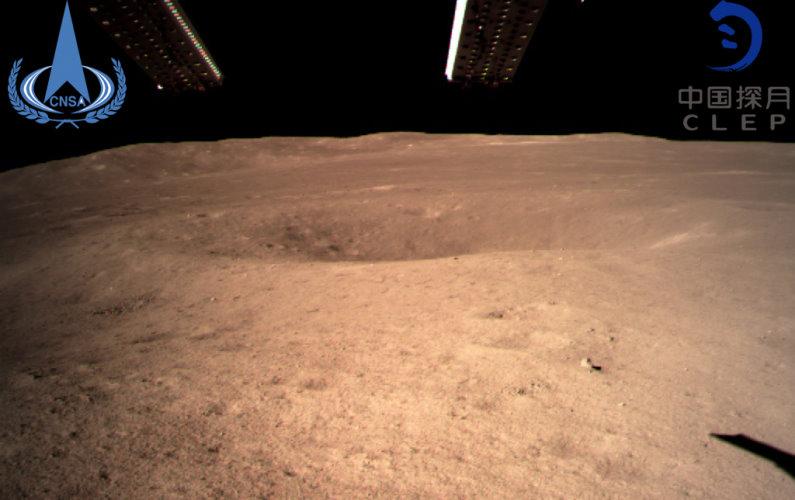 La Chine se pose sur la face cachée de la Lune