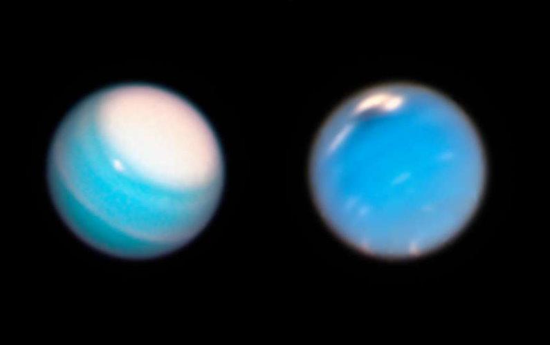 Comment se forment les taches sombres sur Neptune?