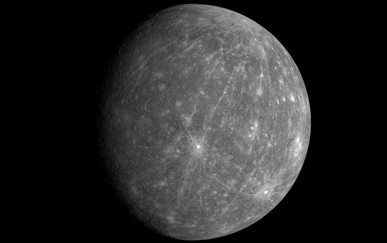 Mercure possède un noyau solide