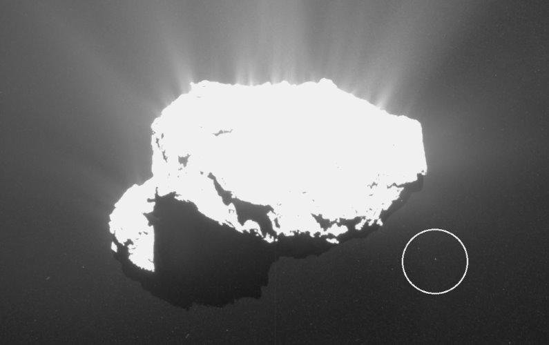 Découverte d'un satellite autour de la comète Churyumov-Gerasimenko
