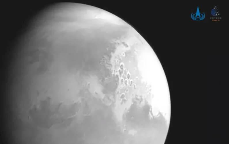 La Chine dévoile son premier cliché de Mars