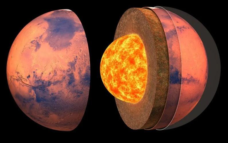 La structure interne de Mars révélée par InSight