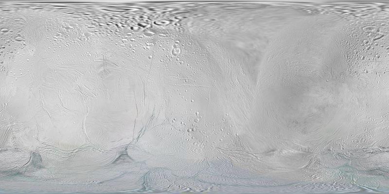 Carte d'Encelade