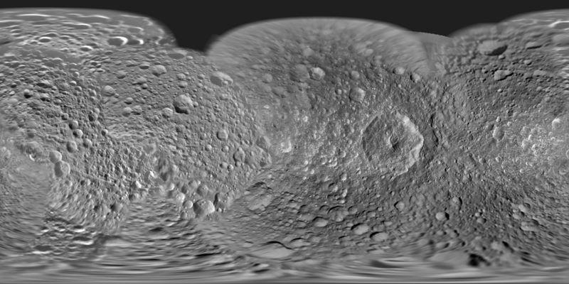 Carte de Mimas