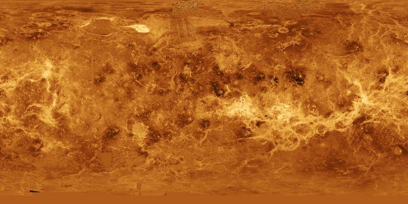 Carte de Vénus