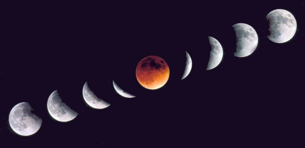 éclipses de Lune
