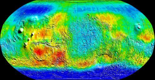 Carte Mars