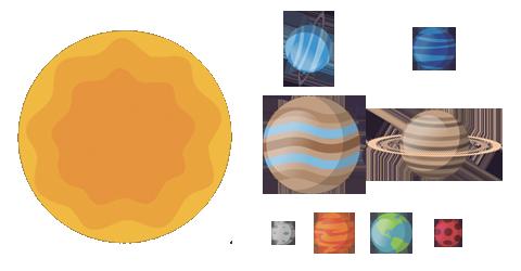 Différence entre étoile et planète