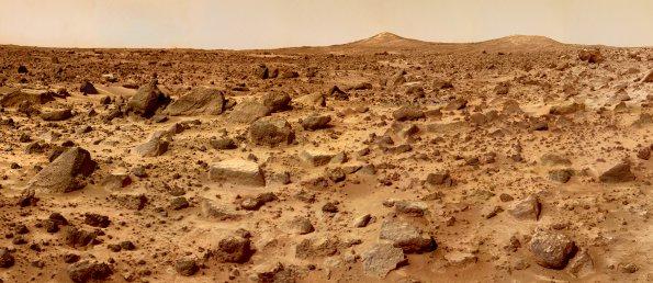 Mars vu du sol