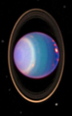 Les anneaux Uranus
