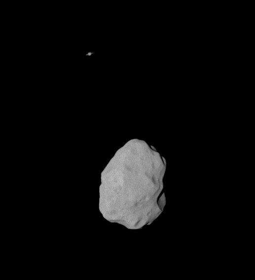 (21) Lutetia et Saturne