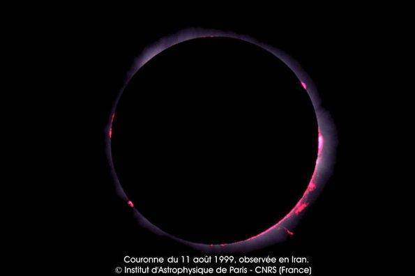 Eclipse du soleil du 11/08/1999 (Iran