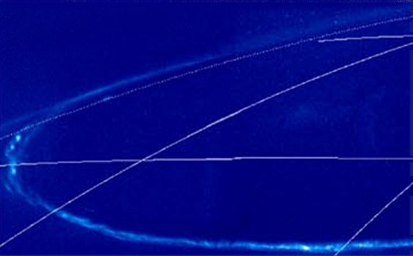 Aurore polaire sur Jupiter