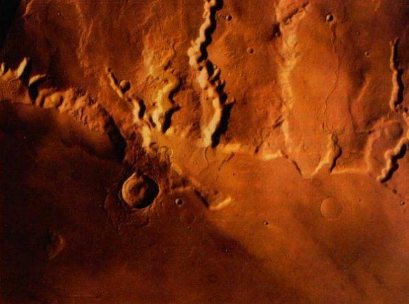 Surface de Mars