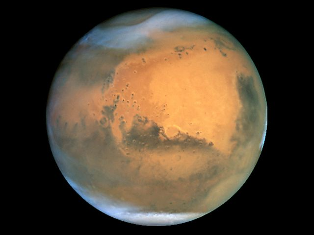 Mars par le Hubble Space Telescope