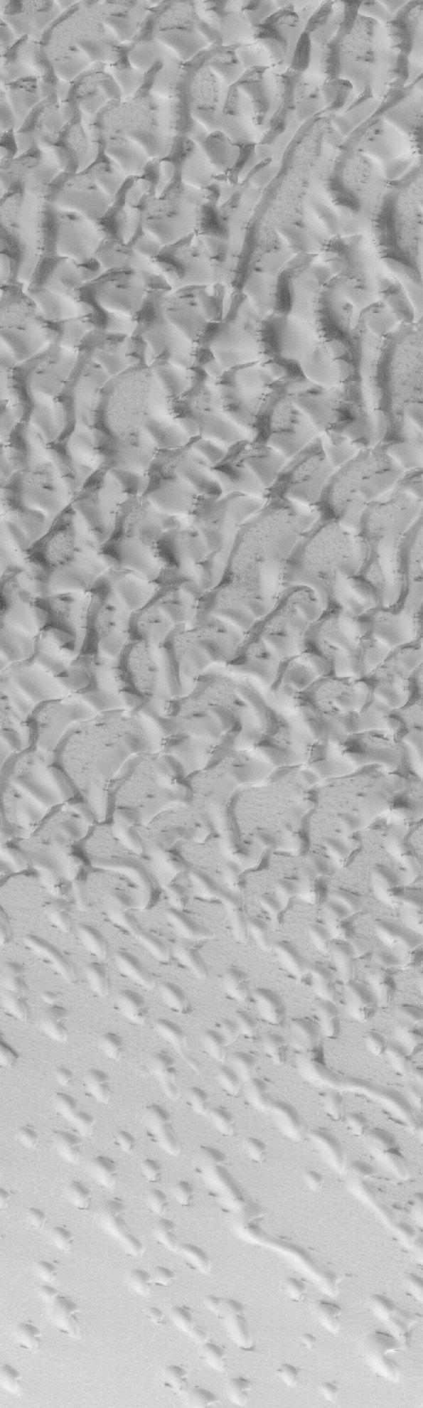 Des dunes sur Mars