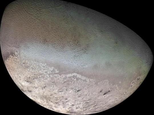 Triton vu par Voyager