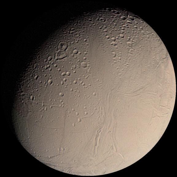 Encelade vu par Voyager