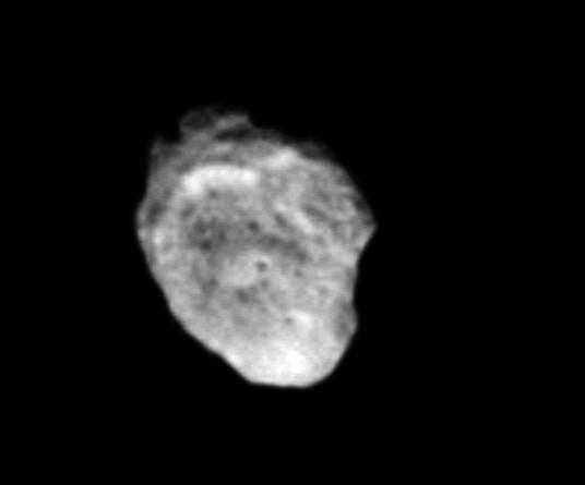 Hyperion vu par Voyager