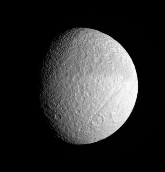 Tethys vu par Cassini