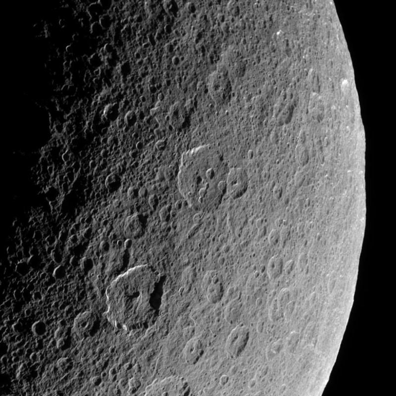 Rhéa vu par Cassini