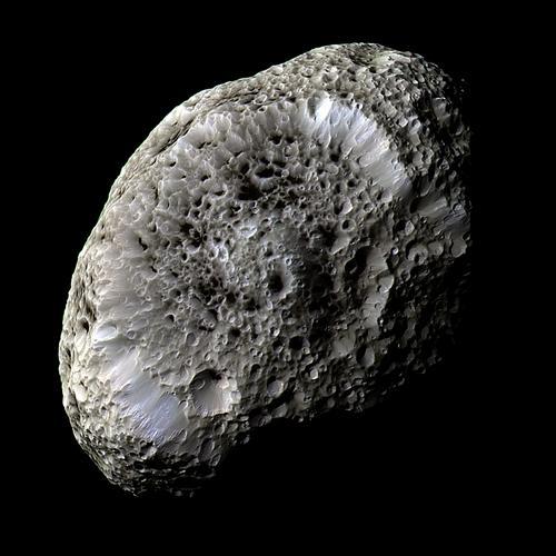 Hypérion vu par Cassini