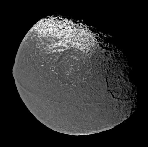 Japet vu par Cassini
