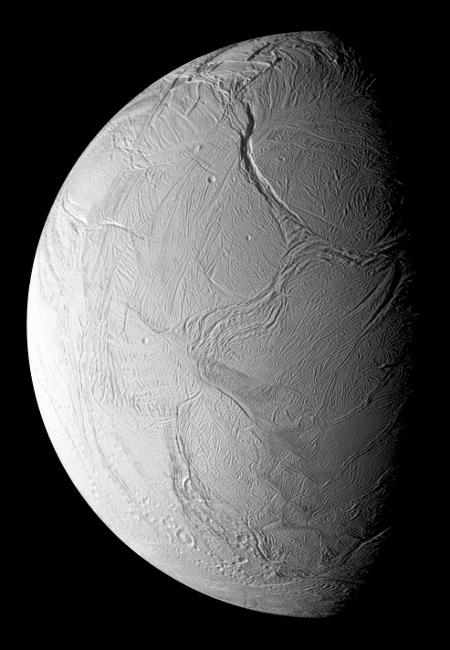 Encelade vu par Cassini