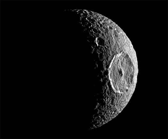Croissant de Mimas