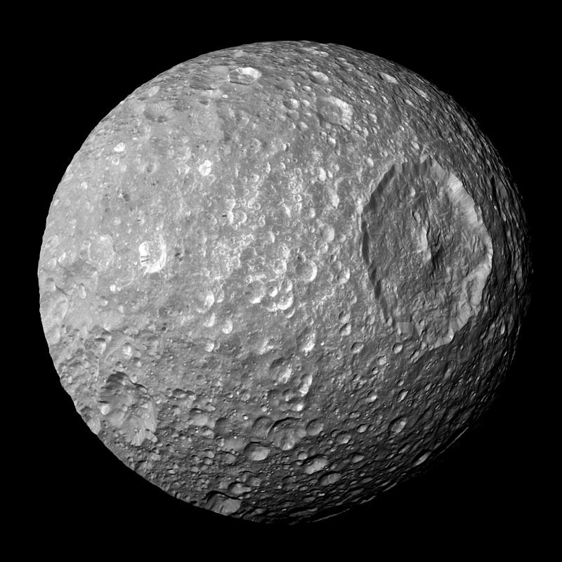 Gros plan par Cassini