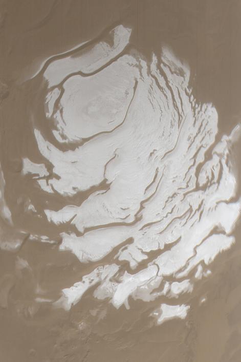 Pole Sud de Mars