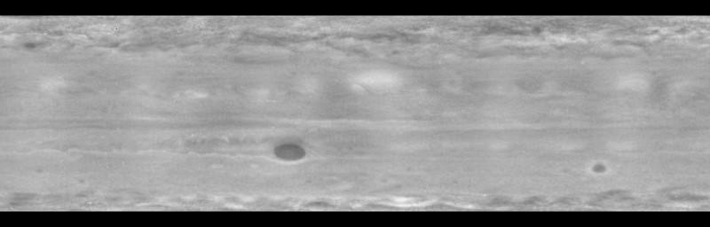 Stratosphère de Jupiter  en ultraviolet
