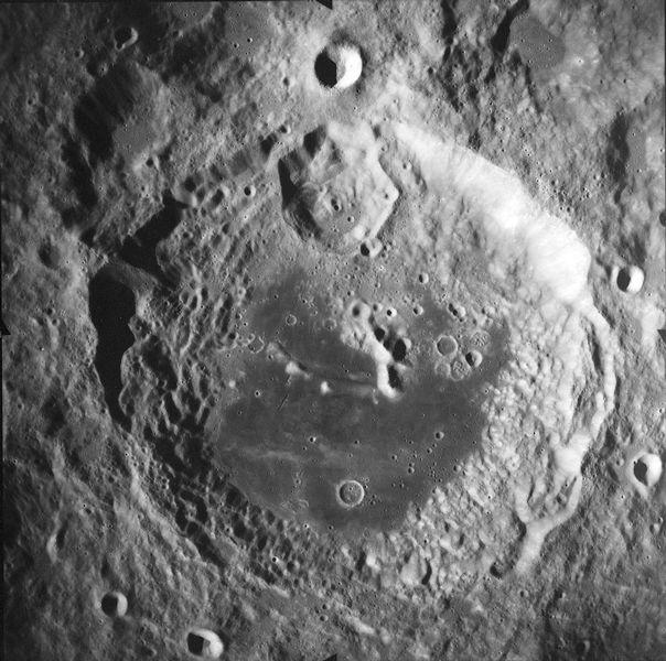 Zoom sur un cratère