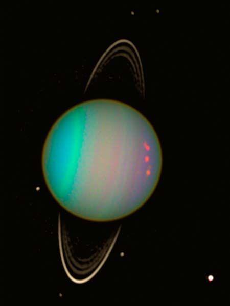 Uranus vu par Hubble